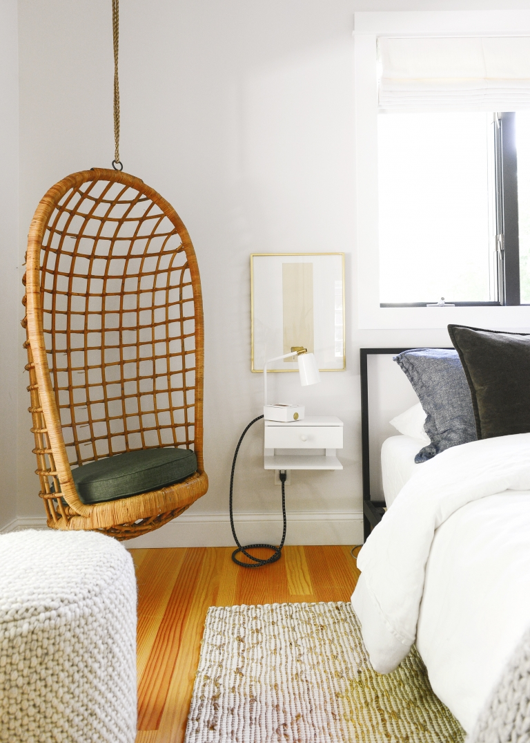 Hanging Our Vintage Egg Chair Other Favorites Yellow Brick Home