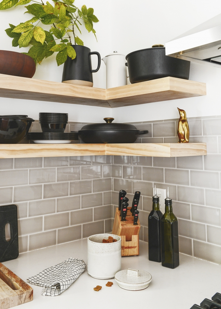 A Case For Open Shelves In The Kitchen Yellow Brick Home